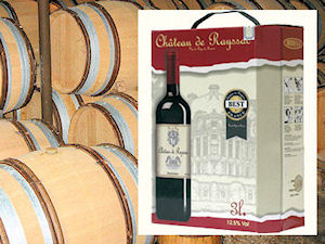 Bag-in-Box de vin de pays TVSA